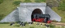 Auhagen 11343 Tunnelportale zweigleisig