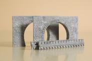 Auhagen 41587 Tunnelportale zweigleisig
