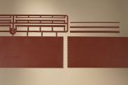 Auhagen 43658 Ziegelmauern mit Zahnfriesvarianten