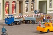 Auhagen 43661 Multicar M22 mit Anhänger