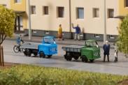 Auhagen 44656 Multicar M22 mit Anhänger