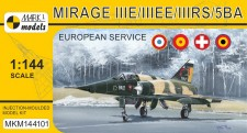 Mark 1 MKM144101 Mirage IIIE/EE/RS/5BA 'In Europe'