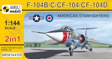 Mark 1 MKM144105 F-104B/C/CF-104/D American Starfighters