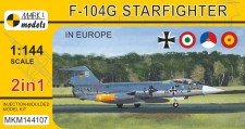 Mark 1 MKM144107 F-104G Starfighter 'In Europe' (2in1)