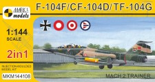 Mark 1 MKM144108 F-104F/CF-104D/TF-104G 'Mach 2 Trainer'