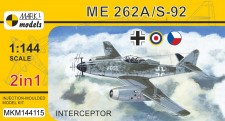 Mark 1 MKM144115 Me 262A/S-92 'Interceptor' (2in1)