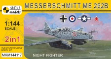 Mark 1 MKM144117 Me 262B 'Night Fighter' (2in1)