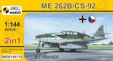 Mark 1 MKM144118 Me 262B/CS-92 'Jet Trainer' (2in1)