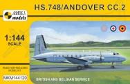 Mark 1 MKM144120 HS.748 / ANDOVER CC.2 British/Belgian