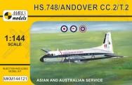 Mark 1 MKM144121 HS.748 / ANDOVER CC.2 Asian/Australian