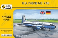 Mark 1 MKM144122 HS.748 / ANDOVER CC.2  'Civil Livery'