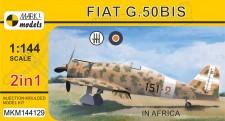 Mark 1 MKM144129 Fiat G.50bis 'In Africa' - 2in1 = 2 kit