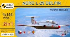 Mark 1 MKM14429 Aero L-29 Delfin WarPac Trainer (2in1)
