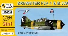 Mark 1 MKM14444 Brewster F2A-1 Buffalo/B-239 2in1