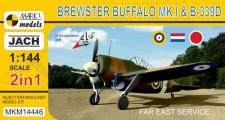 Mark 1 MKM14446 Buffalo Mk.I/Brewster B-339D 2in1