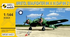 Mark 1 MKM14451 Beaufighter Mk.X/XI/21 RAAF Service