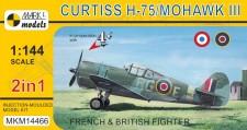 Mark 1 MKM14466 Curtiss H-75 Mohawk Mk.III (2in1)