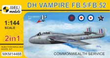 Mark 1 MKM14468 DH Vampire FB.5 Commonwealth (2in1)
