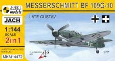Mark 1 MKM14472 Bf 109G-10 'Late Gustav' (2in1)