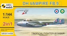 Mark 1 MKM14498 DH Vampire FB.9 'Tropical' (2in1)