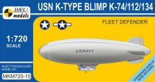 Mark 1 MKM720-10 K-type Blimp (K-74/112/134) Fleet Defend