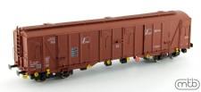 MTB H0004 CD gedeckte Güterwagen-Set 2-tlg Ep.5/6