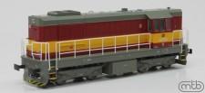 MTB H0742-016 CD Diesellok Serie 742 Ep.4/5