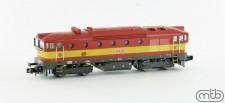 MTB N754-062 CD Diesellok Serie 754 Ep.5