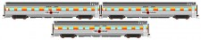 Auscision APS-10 The Ghan Personenwagen-Set 3-tlg Ep.5