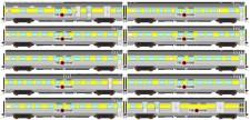 Auscision APS-11 The Ghan Personenwagen-Set 10-tlg Ep.5