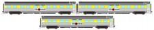 Auscision APS-12 The Ghan Personenwagen-Set 3-tlg Ep.5