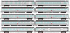 Auscision APS-15 The Ghan Personenwagen-Set 10-tlg Ep.5
