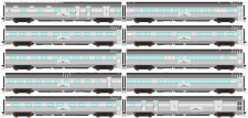 Auscision APS-3 IP Personenwagen-Set 10-tlg .Ep.5