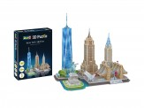 Revell 00142 3D Puzzle New York Skyline