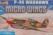 Revell 03951 P-40E Warhawk  -  Micro Wings Serie
