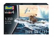 Revell 05154 German Submarine Type VII C/41