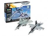 Revell 05677 F-14 / F/A-18 'Top Gun 2' Movie Gift Set