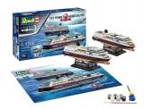 Revell 05692 Geschenkset: 125 Years Hurtigruten