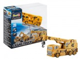 Revell 23497 Mini RC Construction Cars Crane Truck