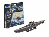 Revell 65154 ModelSet: German Submarine Type VII C/41