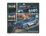 Revell 67037 ModelSet: '58 Corvette Roadster
