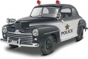 Monogram 14318 1948 Ford Police Coupe 2n1