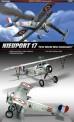 Academy 12121 Nieuport 17 WWI 100th anniversary
