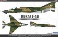 Academy 12300 F-4D Phantom Rokaf