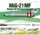 Academy 12311 Mig-21MFF Soviet Forces&Export
