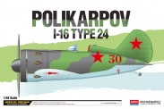 Academy 12314 Polikarpov I-16 Typ 24