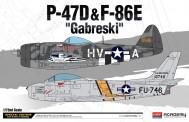 Academy 12530 P-47D & F-86E 'GABRESKI'