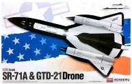 Academy 12540 SR-71 & DRONE