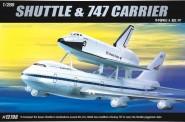 Academy 12708 SP.Shuttle + Jumbo 747