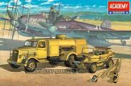 Academy 13401 German Fuel Truck & Schwimmwagen